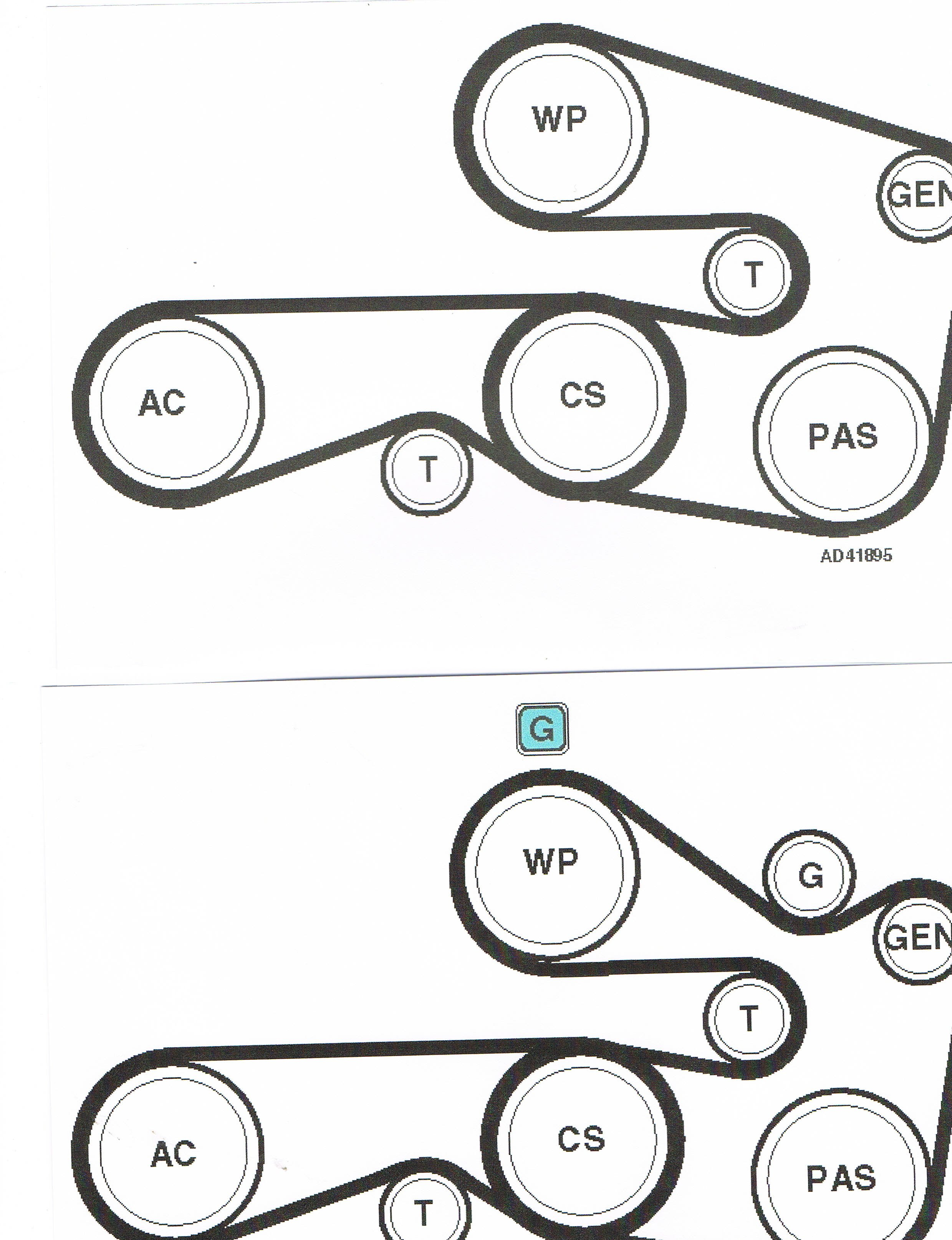 2000 bmw 528i serpentine belt diagram