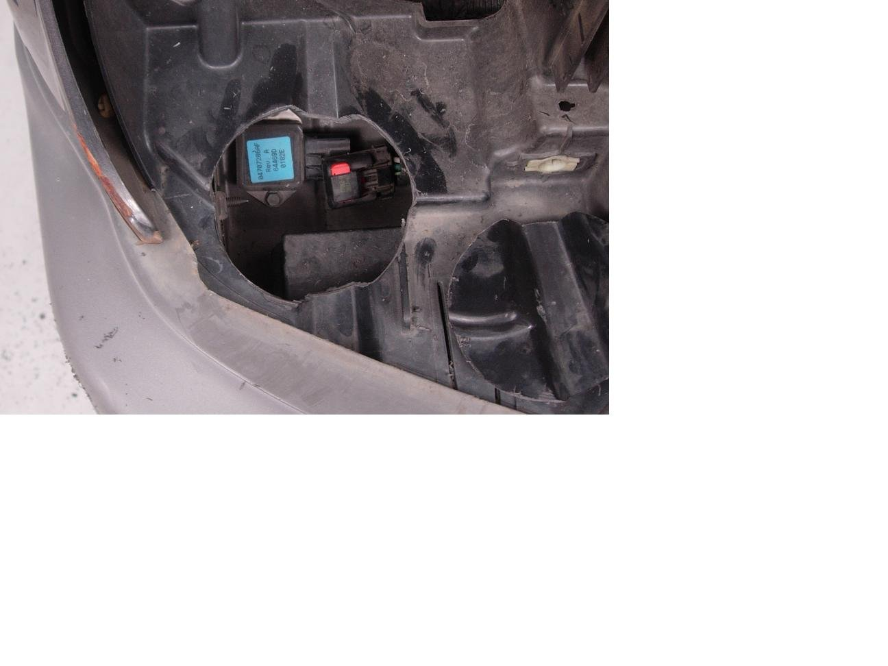 Where Is The Radiator Fan Relay On A 2004 Jeep Grand Cherokee Electric Installation Page 4 North American In Above Picturethe Light Blue Sticker And Located Under Passenger Side Plastic Reinforcement Frame Headlamp