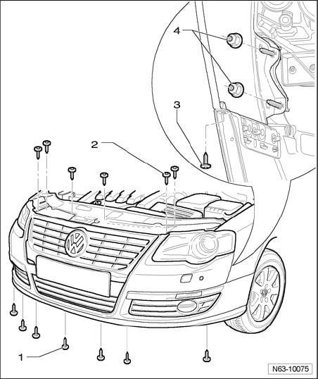 2008 volkswagen passat headlight bulb replacement