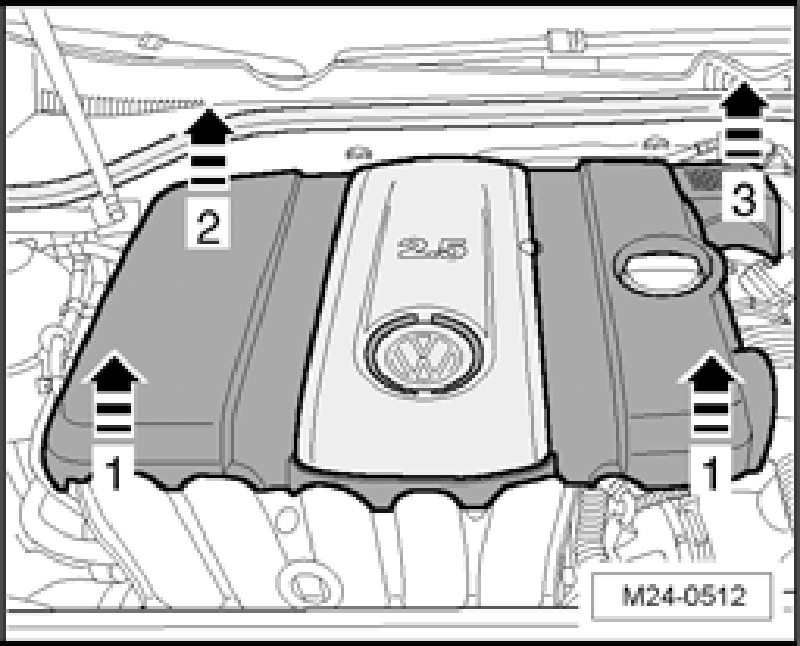 Need To Know The Removal Procedure For 2009 Vw Jetta Engine Coverrhjustanswer: 2007 Vw Jetta Engine Diagram At Elf-jo.com
