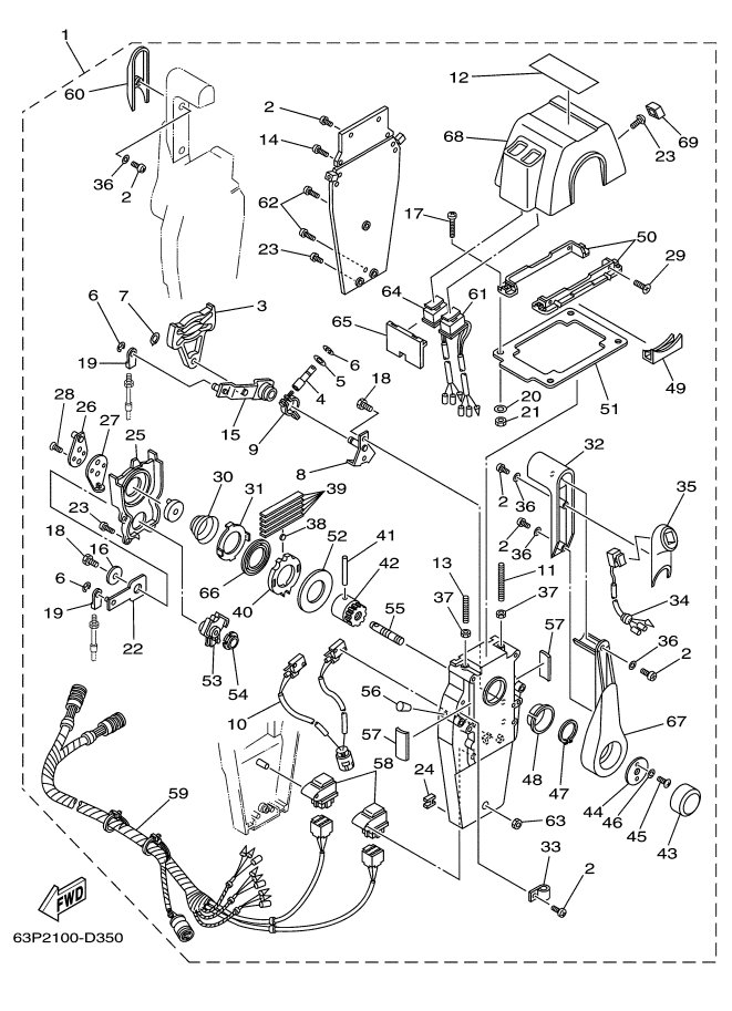 Yamaha Outboard Control Wiring Diagram Help With Setup Of A 1990