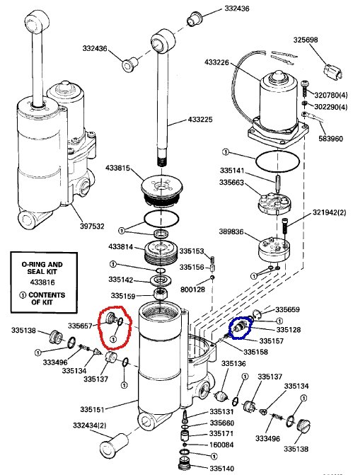 wiring diagram evinrude 3 wire tilt and trim