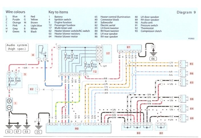 Doc  Diagram Fiat Stilo Radio Wiring Diagram Ebook