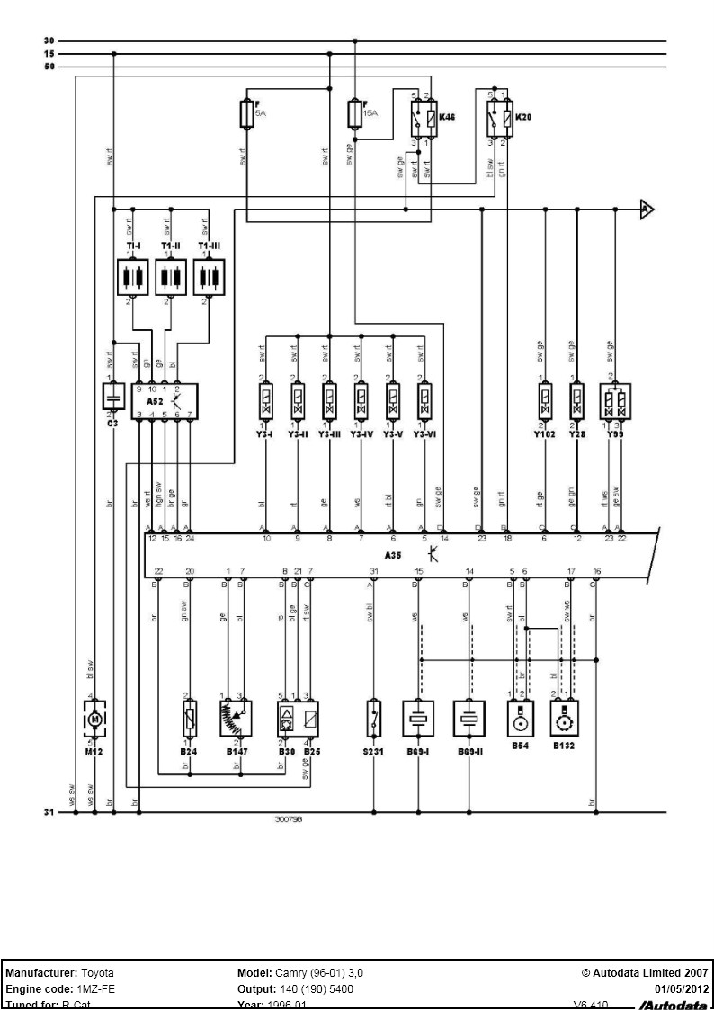 96 Camry Radio Wiring Wire Data Schema Toyota Diagram Engine Get Free Image 98