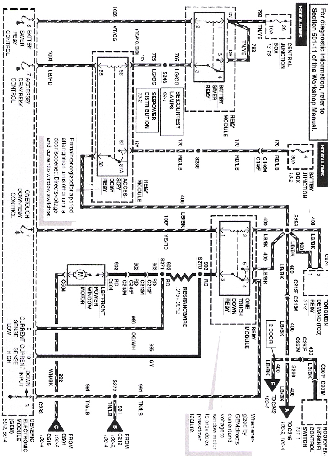 2002 Mercury Mountaineer Radio Wiring Diagram Great Design Of 2001 Sable Fuse Box 99 Get Free Image About Diagrams Rear