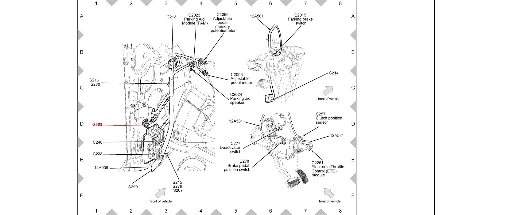 1994 toyota camry fuel pump location