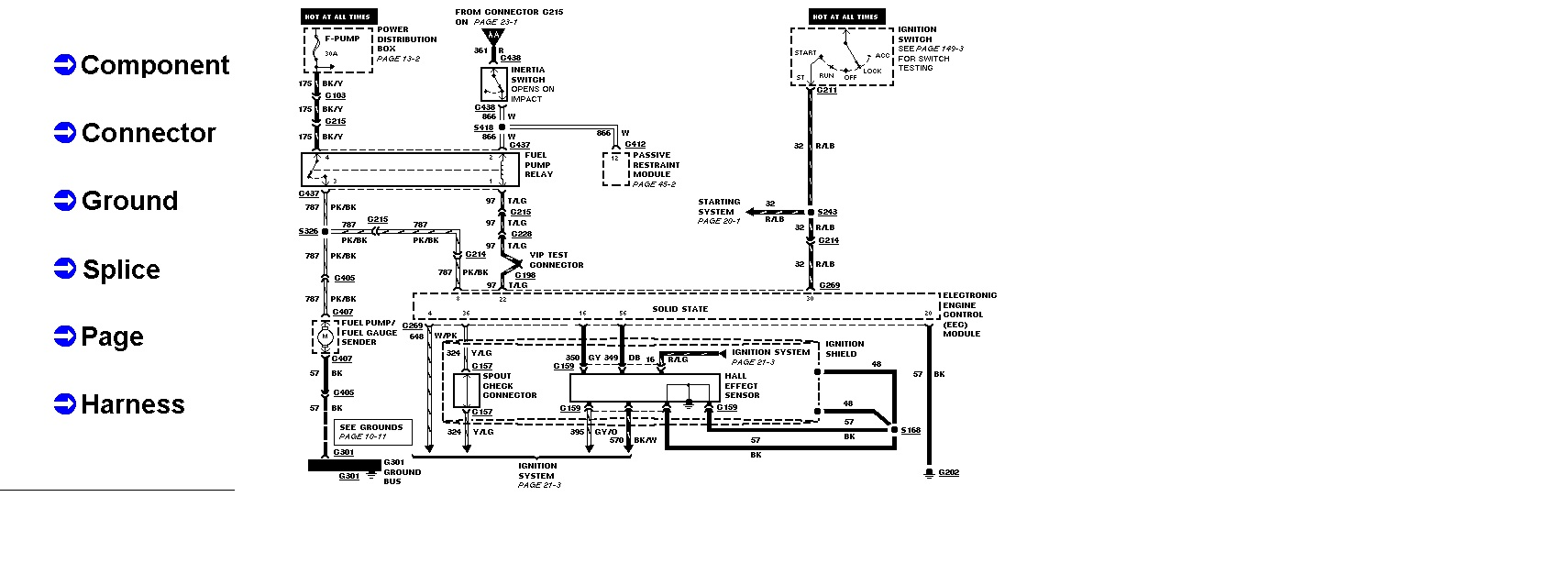 99 mercury cougar fuel pump wiring diagram image 3