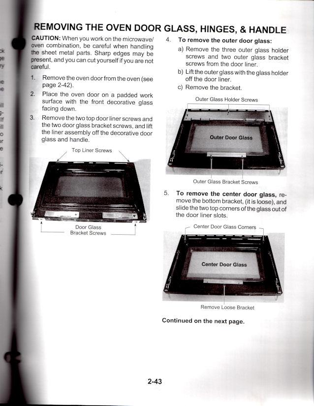 Replace Glass Oven Door Whirlpool Glass Door Ideas