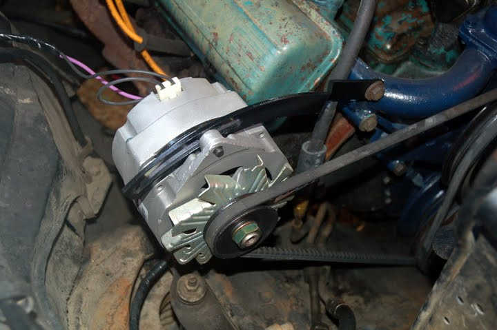 How Can I Replace My Generator With A Alternator On My
