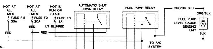 1993 Jeep Grand Cherokee  Fuel Pump  Blown  It Ran Fine  Blew