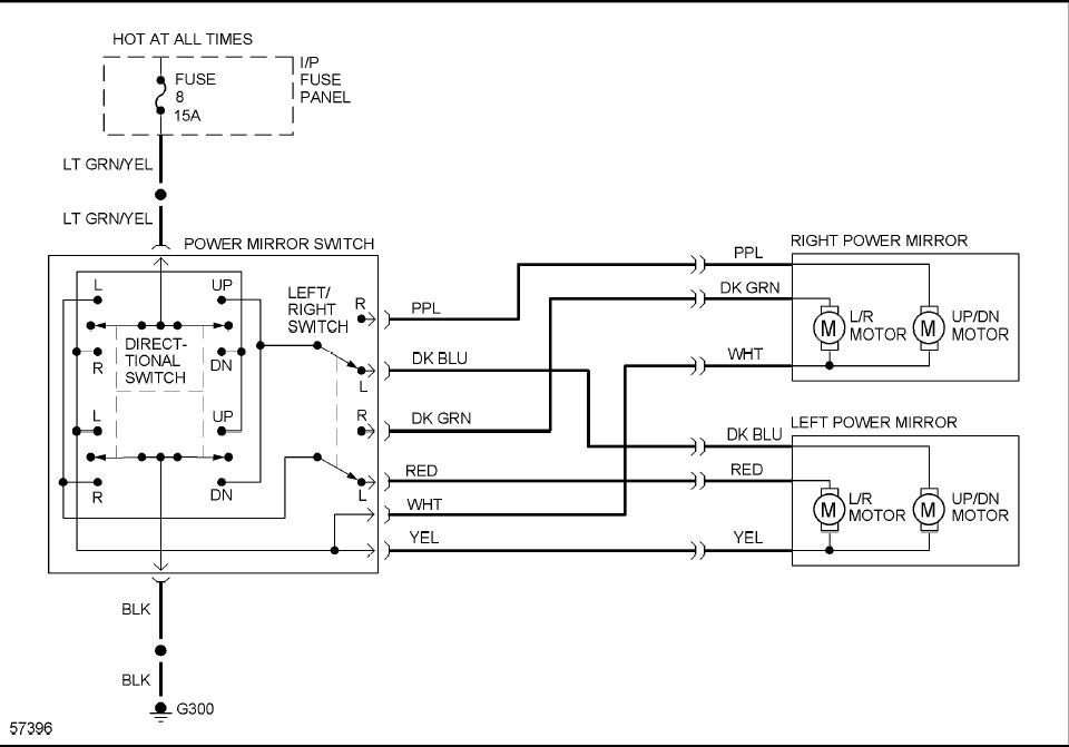 i have no power on my power mirrors on my 1992 ford tempo ... ford tempo fuse box diagram