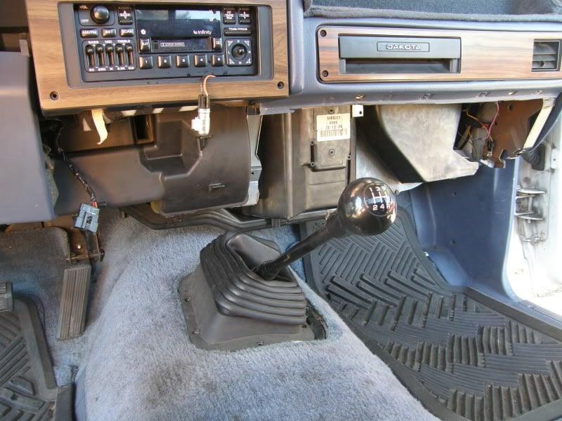 Remove Heater Core In 1992 Dodge Dakota