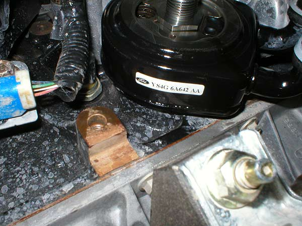 I have a ford focus svt 2003 the engine oil cooler has rusted leaking coolant,i am unable to ...