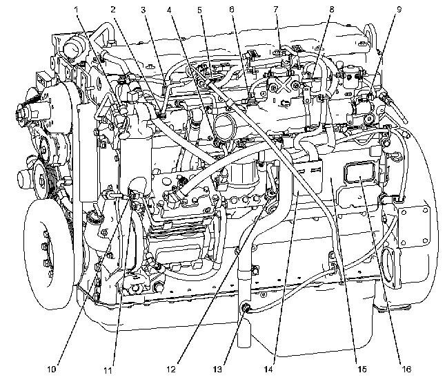 Cat C15 Acert Torque Specs In Addition Cat C7 Engine Parts Diagram