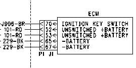 cat c12 wiring diagram 70 pin i need a diagram showing where the power enters the ecm on ...